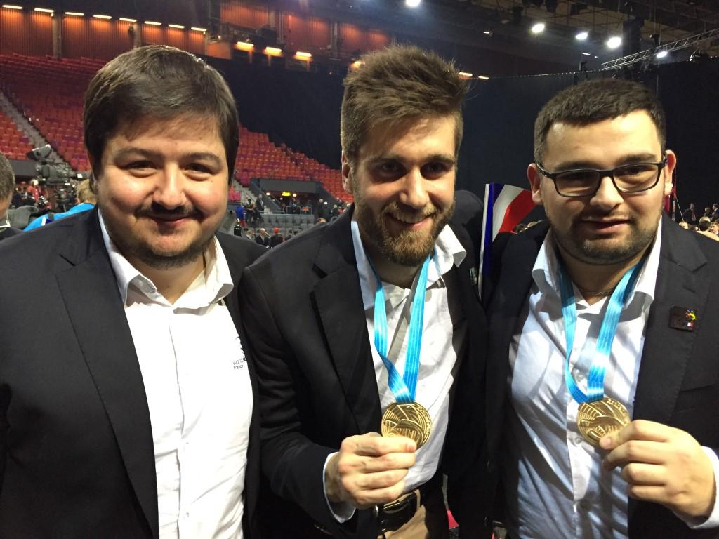 Médaille d'or Euroskills 2016